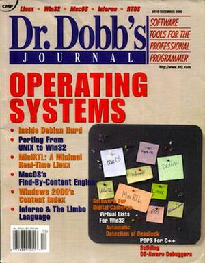 Dr. Dobb's Journal - Dr. Dobb's Journal, December 2000 issue
