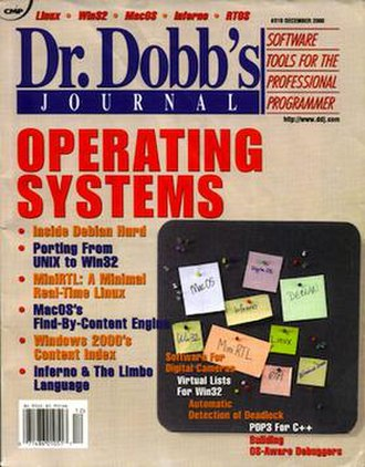 Dr. Dobb's Journal - Dr. Dobb's Journal, December 2000 issue