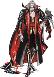 Dracula (<i>Castlevania</i>) fictional character from the multi-platform Castlevania video game series