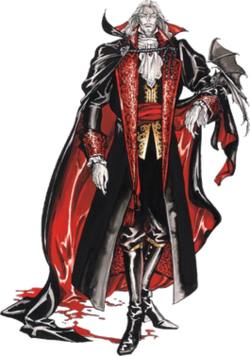 Dracula As He Appears In Symphony Of The Night   Artwork By Ayami