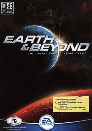 Earth & Beyond - PC Box art