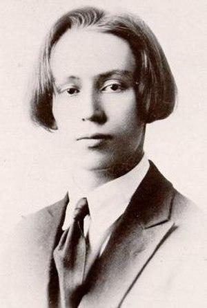 Ervin Nyiregyházi - Ervin Nyiregyházi in 1920