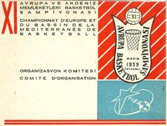 EuroBasket 1959 - Image: Euro Basket 1959 logo