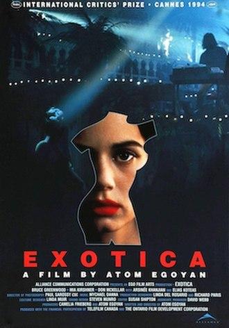 Exotica (film) - Exotica film poster