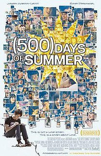 <i>500 Days of Summer</i> 2009 American comedy drama film directed by Marc Webb