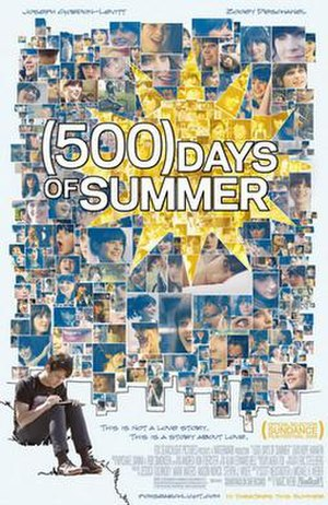 500 Days of Summer - Theatrical release poster