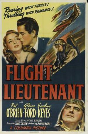 Flight Lieutenant (film) - Image: Flight Lieutenant Film Poster