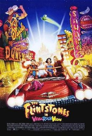 The Flintstones in Viva Rock Vegas - Theatrical release poster