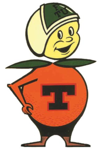 Central Florida Future - FTU Citronauts logo, ca. 1969
