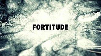 Fortitude (TV series) - Image: Fortitude titlecard