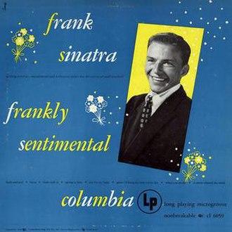 Frankly Sentimental - Image: Franklysentimental