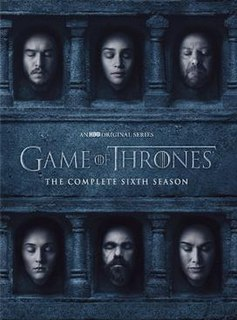 <i>Game of Thrones</i> (season 6) sixth season of the fantasy drama television series Game of Thrones