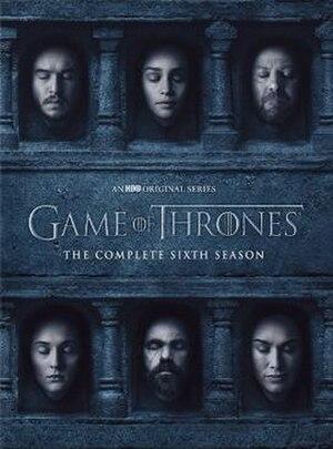 Game of Thrones (season 6) - Region 1 DVD cover