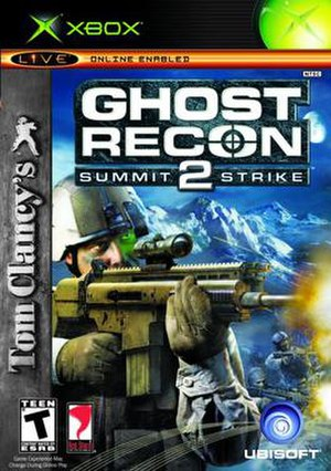 Tom Clancy's Ghost Recon 2: Summit Strike - Image: Ghost Recon 2SSCover