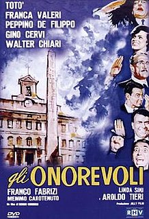 <i>Gli onorevoli</i> 1963 film by Sergio Corbucci