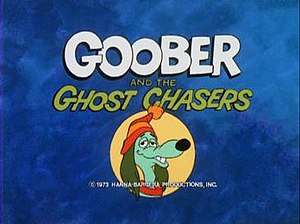 Goober and the Ghost Chasers - Title card logo from Goober and the Ghost Chasers