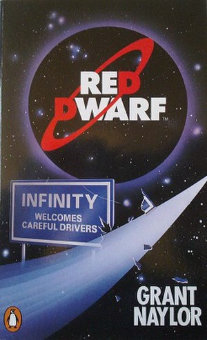 Red Dwarf: Infinity Welcomes Careful Drivers - First edition cover
