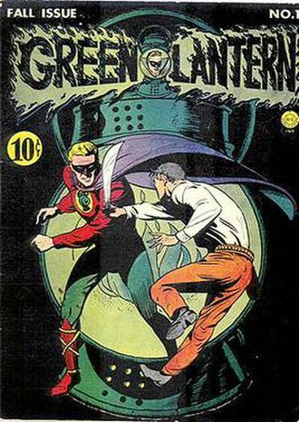 Green Lantern (comic book) - Image: Green Lantern v 1 1