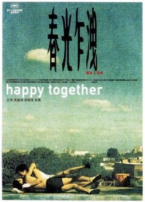 Happy Together (1997 film) - Image: Happy Together poster