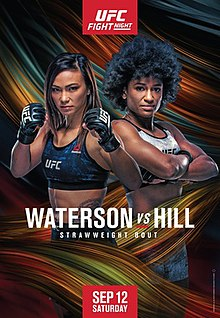 UFC Fight Night: Waterson vs. Hill Fight Poster