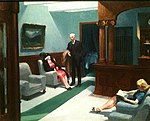 Hotel Lobby by Edward Hopper.JPG