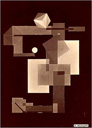 Vilmos Huszár - Mechano-Dancer, 1922, Private collection, New York