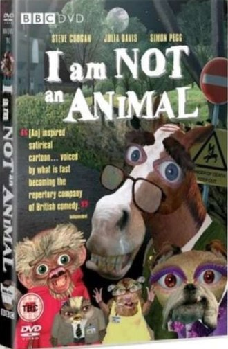 I Am Not an Animal - Cover of the DVD release