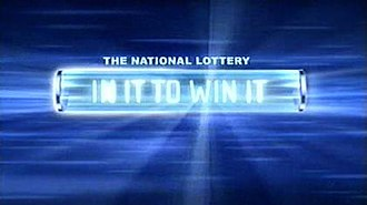 The National Lottery: In It to Win It - Image: In it to win it