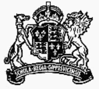 Ipswich School - Image: Ipswich School Crest