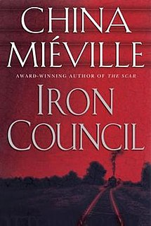 <i>Iron Council</i> 2004 Book by China Miéville
