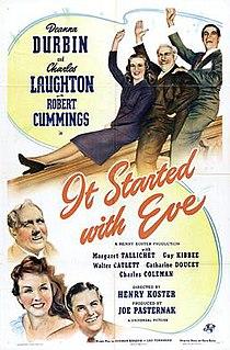 <i>It Started with Eve</i> 1941 film by Norman Krasna, Henry Koster, Joe Pasternak