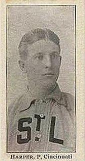 Jack Harper (1900s pitcher) American baseball player (1878-1950)