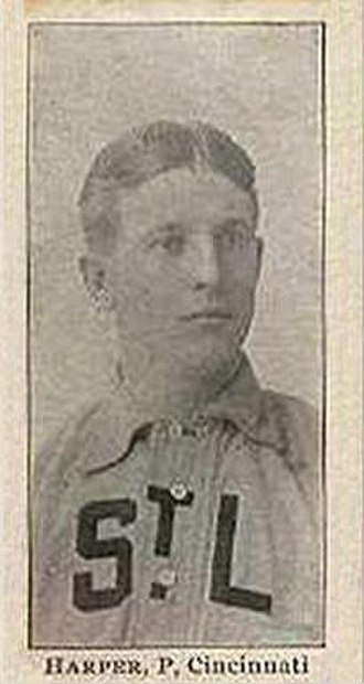 Jack Harper (1900s pitcher) - Image: Jack Harper card