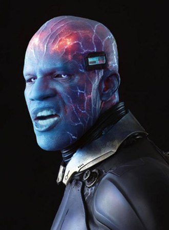 The Amazing Spider-Man 2 - Jamie Foxx as Electro. According to the actor, the make-up part was the most difficult phase during filming.