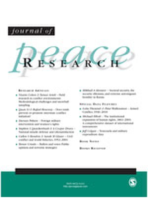 Journal of Peace Research - Image: Journal of Peace Research