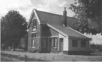 Junne - Junne's railway station (early 20th century)