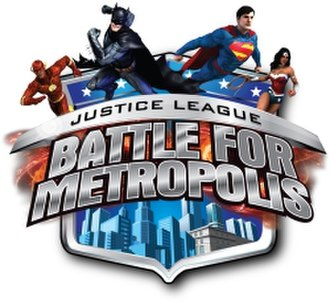 Justice League: Battle for Metropolis - Image: Justice League Battle for Metropolis logo