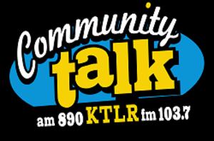 KTLR - Image: KTLR Community Talk 890 103.7 logo