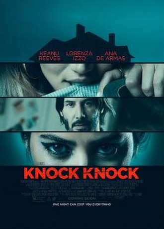 Knock Knock (2015 film) - Theatrical release poster