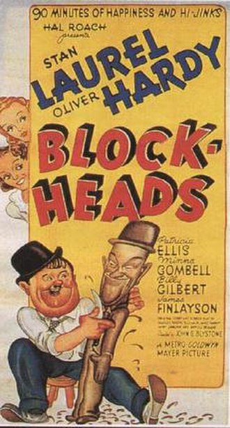 Block-Heads - Theatrical release poster