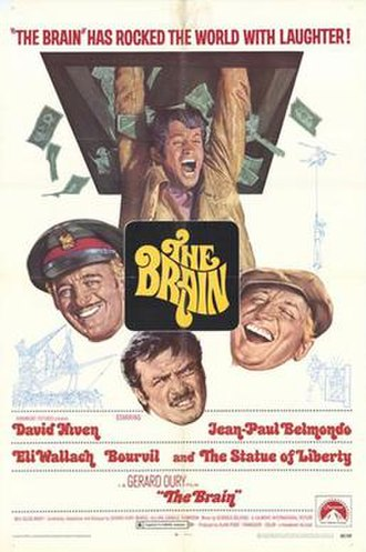 The Brain (1969 film) - Original film poster