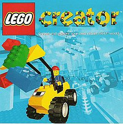 Lego Creator CD jacket