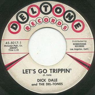 Let's Go Trippin' - Image: Let's Go Trippin' (single)