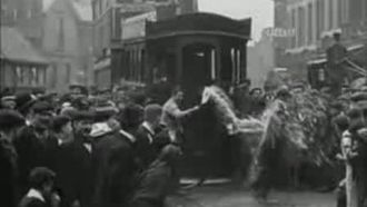 1902 in film - Screenshot from the film Living Wigan.
