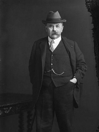 Louis N. Parker - Louis N. Parker in 1917, National Portrait Gallery
