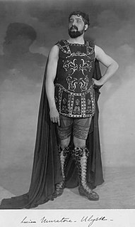 <i>Pénélope</i> opera by Gabriel Fauré