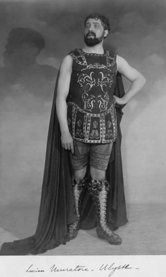 Pénélope - Lucien Muratore as Ulysse, Paris, 1913