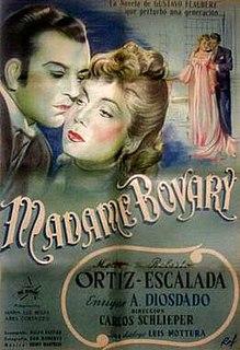 <i>Madame Bovary</i> (1947 film) 1947 film by Carlos Schlieper