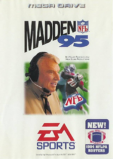 <i>Madden NFL 95</i> 1995 NFL game