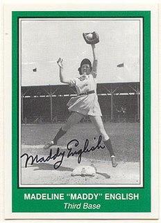 Maddy English American baseball player